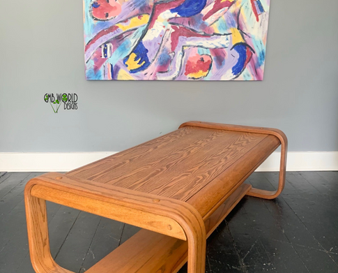 457 - Lou Hodges style MCM Coffee Table