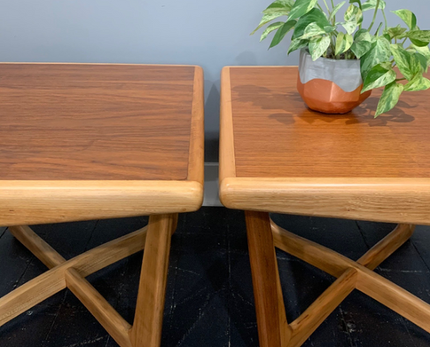 477 - Lane MCM Side Tables