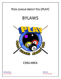 PLAY Bylaws (S13) cover rev. 12-10-18_Pa