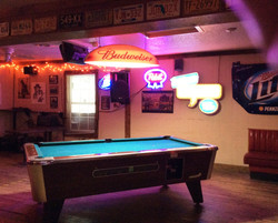 One Pool Table