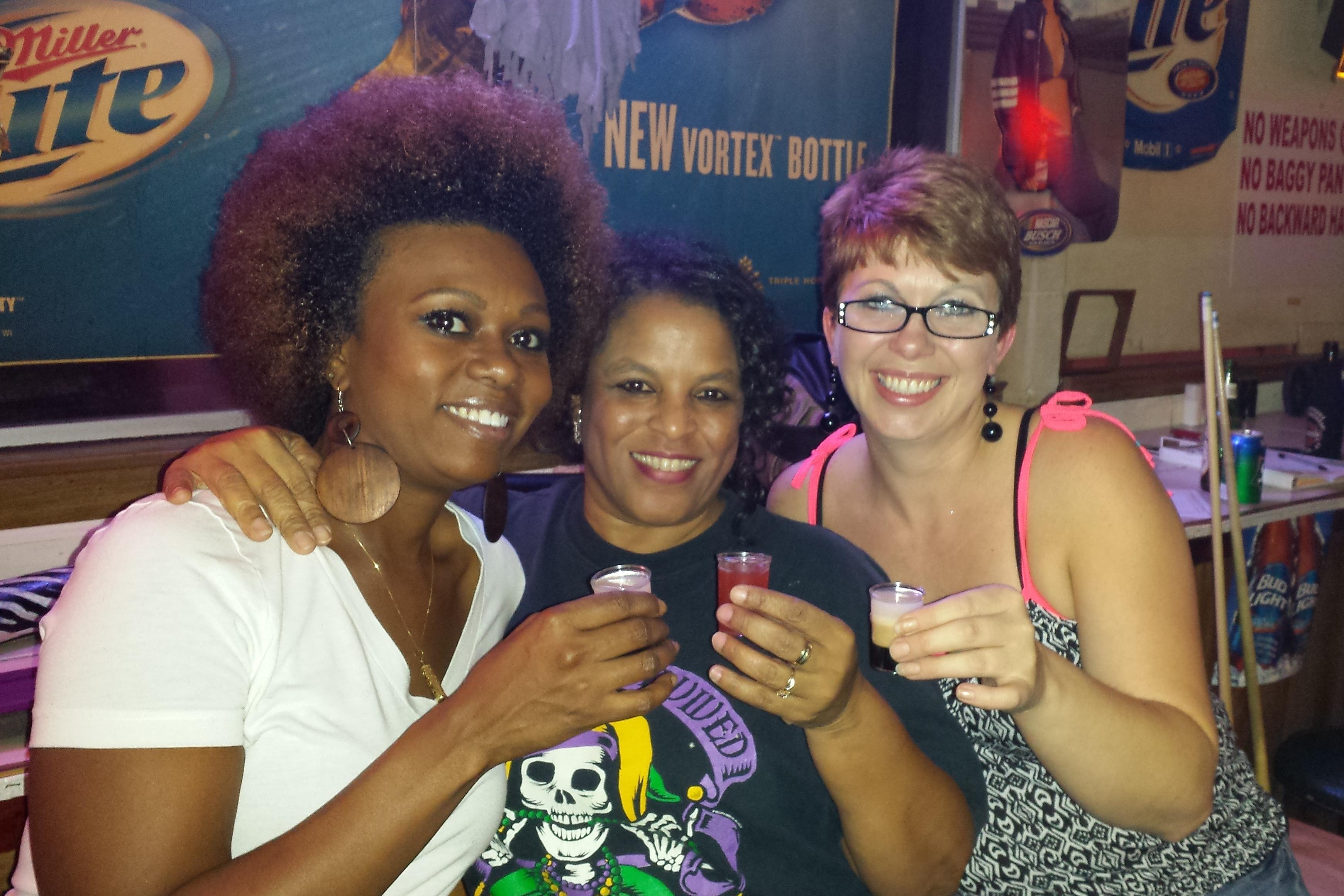 Lena, Snuggles & Amy