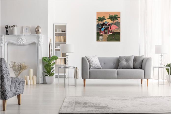 Inspiration tableau 92 x 73cm
