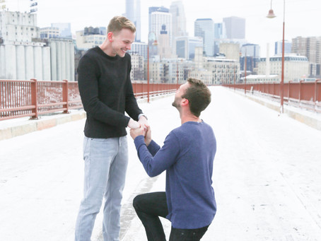WINTER PROPOSAL - LOVE WINS!