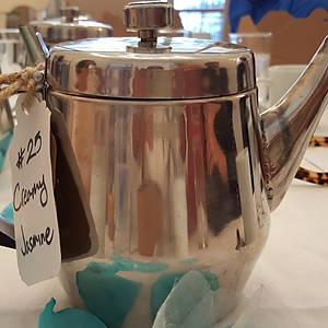 Grub and Tea Party:  October 2016