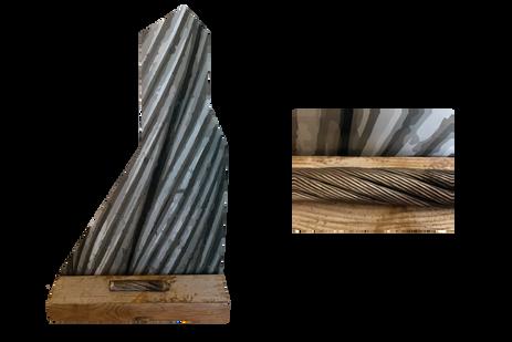 Headframe and Hoist (and detail image)