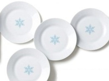 Avon Winter Plate