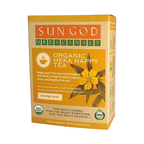 Sun God Medicinals Organic Loose Leaf Herbal Tea
