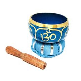 Tibetan Singing Bowl Om design