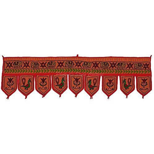 Indian Cotton Toran Bandanwar