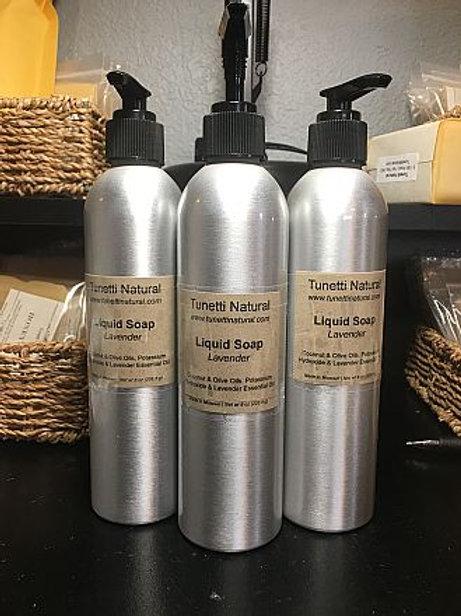 Tunetti Natural Organic Liquid Soap