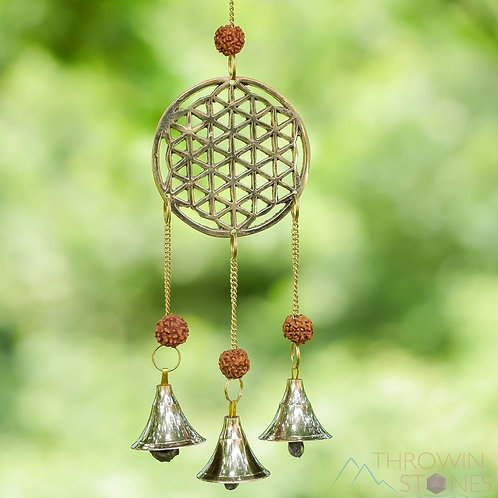 Brass Wind Chime with bells