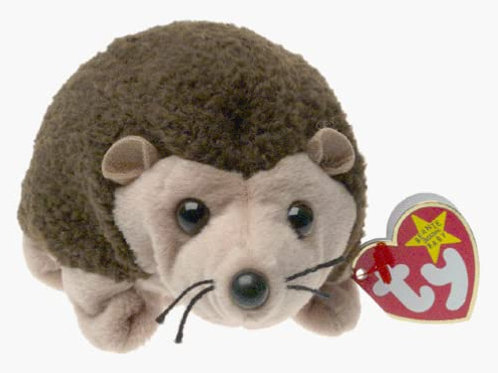 Ty Beanie Babies Prickles the Hedgehog Retired