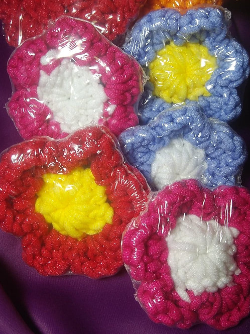 Hand Crocheted Cotton Body Scrubber