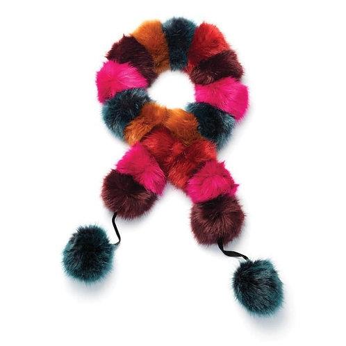 Have a ball Pom-Pom scarf