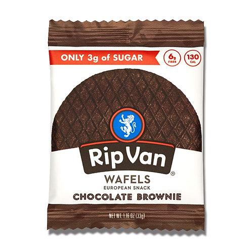 Rip Van Wafels Chocolate Brownie Stroopwafel