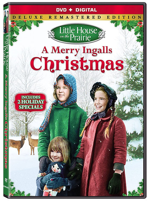 DVD Little House On The Prairie: A Merry Ingalls Christmas