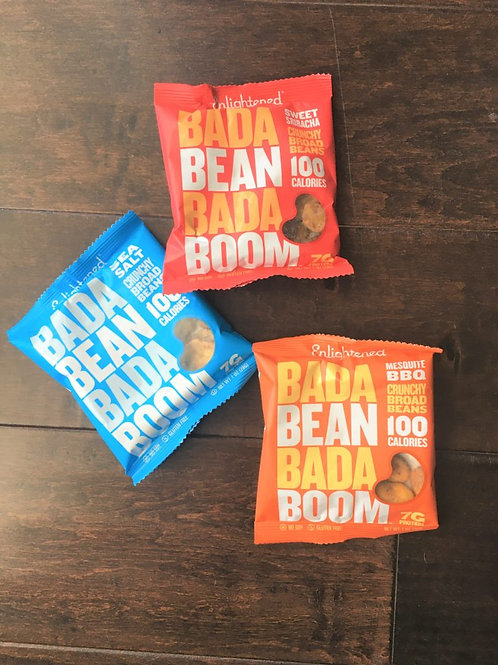 Bada Bean Bada Boom - Crunchy Roasted Broad (Fava) Bean Snacks