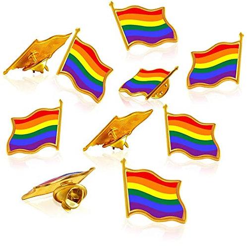 Pride Pin Flag Rainbow Gay Pride LGBT
