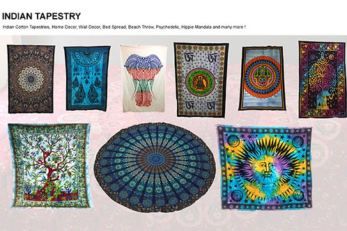 Indian Cotton Tapestries