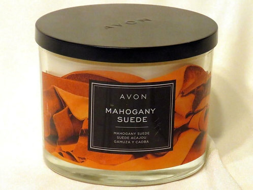 Mahogany Suede Scented Candle