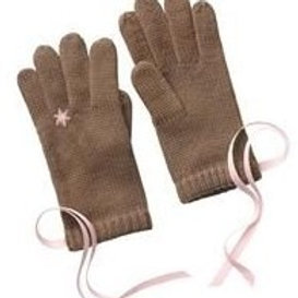 Winter Soft Snowflake Ring Gloves