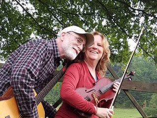 Swiftwater General Store hosting musical duo Laura Davis and Gary Reynolds and artist Pat Mason