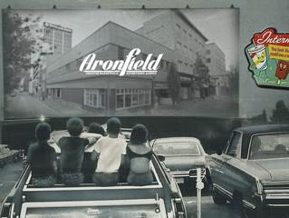 Drive-in Movie ArtWalk at Aronfield!