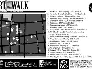 FestivALL June ArtWalk Map