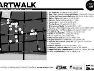 March ArtWalk is this Thursday
