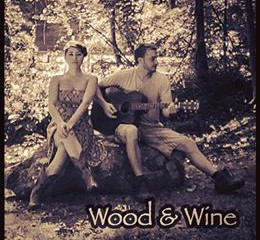 Wine and Wood Playing at Genesis Cafe