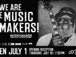 """We Are The Music Makers"" at Clay Center's Art After Dark"