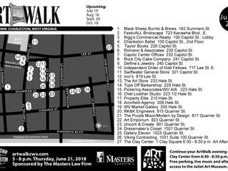 FestivALL ArtWalk Map