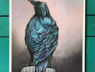 Xtreme Labor Solutions showing Pencils and Pastels by Lisa Harrison
