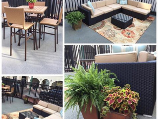 Patio Chat & Tours at Uncork & Create