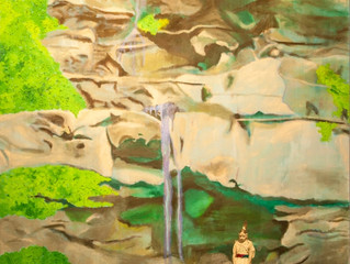 The Annex Gallery at Taylor Books featuring artist Ali Printz and Kanawha Kordsmen