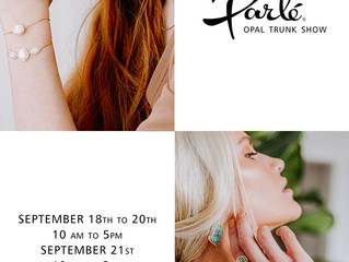 Delfine's Jewelry holding an opal trunk show and hosting Pattern of Integrity