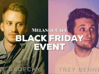 Music and specials at Melange Cafe