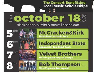 DerickFest '18 Concert at Black Sheep Burrito & Brews: