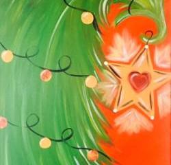 Paint Tipsy Tree at Uncork & Create