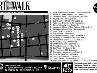 December Holiday ArtWalk