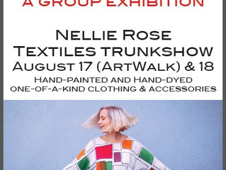 The Art Store: Shades of Summer Feature; Nellie Rose Trunk Show