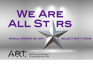 "The Art Store is showing ""We Are All Stars"""