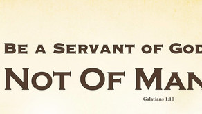 If I were still trying to please people, I would not be a servant of Yeshua.