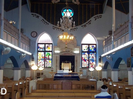 THE BIRTH OF A SYNAGOGUE