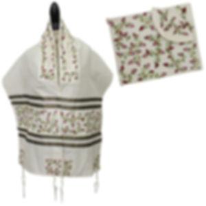 silk-embroidered-pomegranates-tallis-set