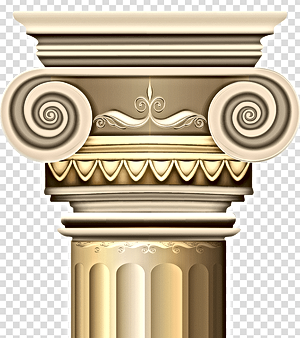 beige-pillar-stand-illustration-png-clip