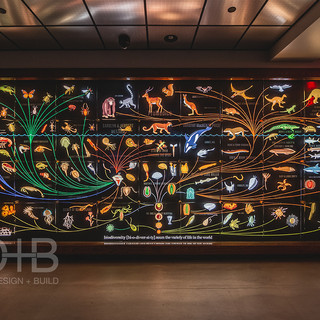 Donor Wall- Promedica Museum of Natural History at the Toledo Zoo