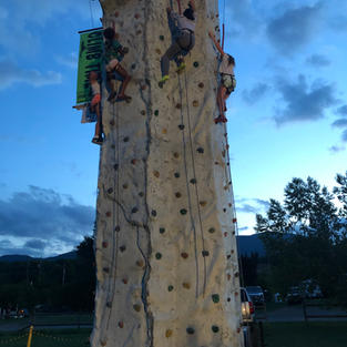 Yes we can climb after dark!
