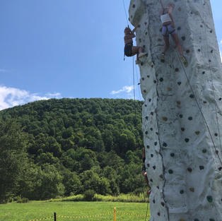Family event up in the mountains. Lots of competitions at this one.