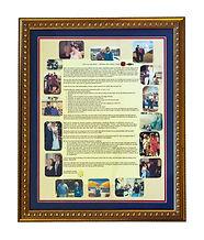 Premium Tribute Framed